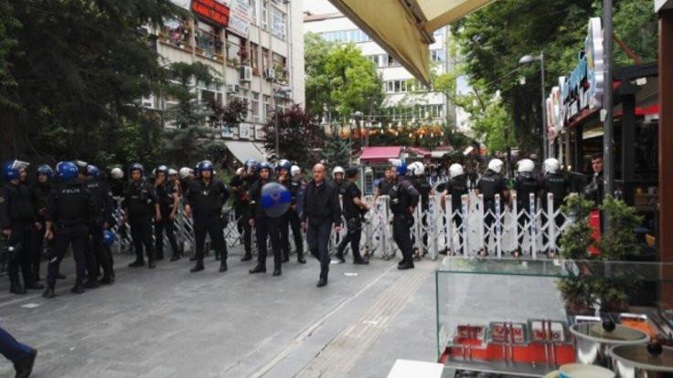 Ankara'da yasak uzatıldı
