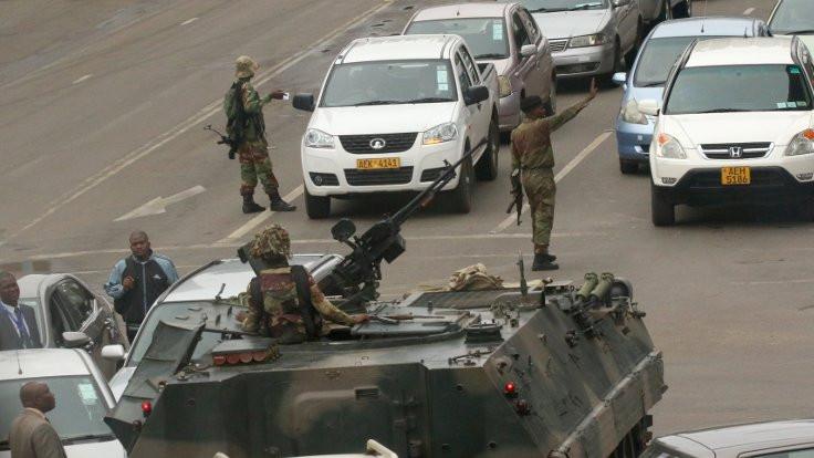 Zimbabve ordusundan darbe iddialarına yalanlama