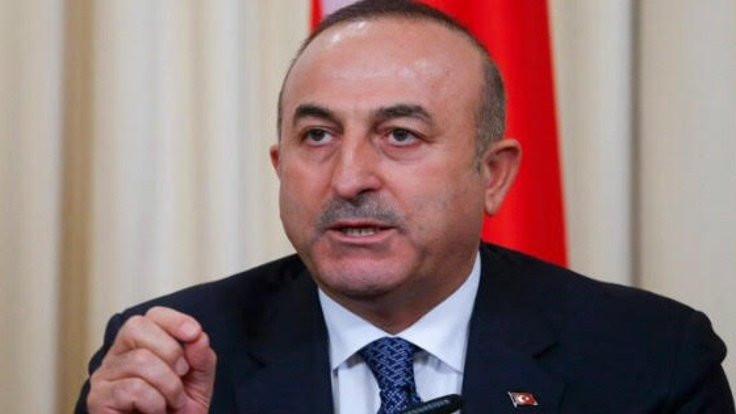 Çavuşoğlu: Rusya ve İran, rejimi durdurmalı