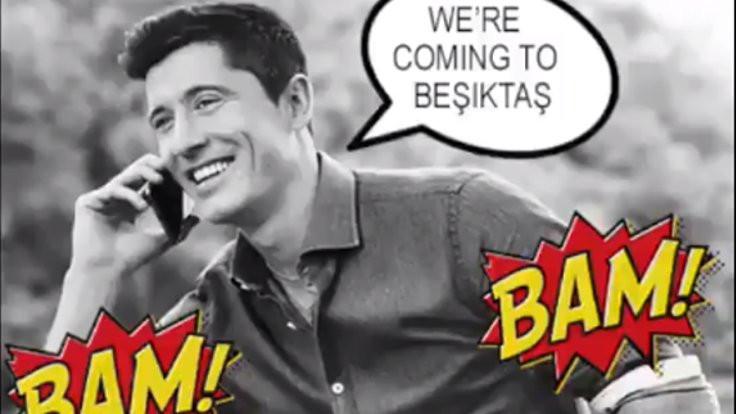 B.Münih'ten Beşiktaş'a: Bam bam bam
