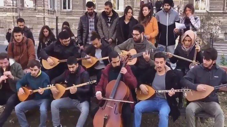 İTÜ'de 'müzik haramdır' bildirisi