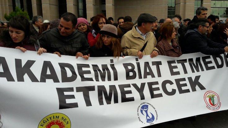 Barış Akademisyenleri'nin beraat talebine ret
