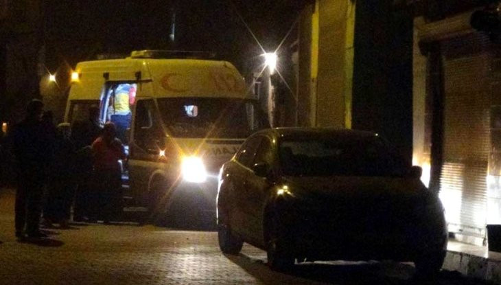 Gaziantep'te bir eve kalaşnikoflu saldırı