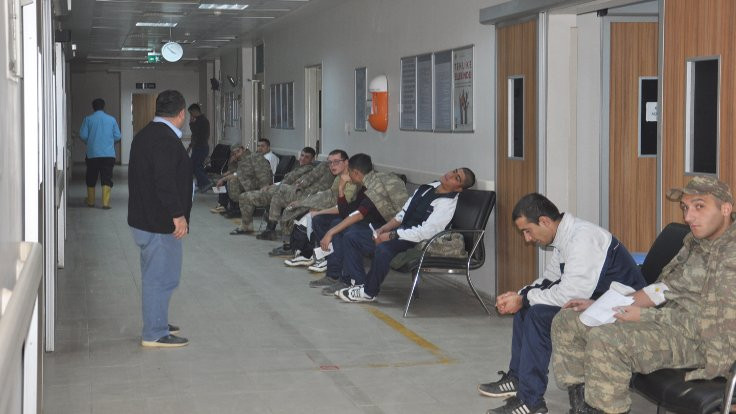 Islahiye'de 70 asker zehirlendi