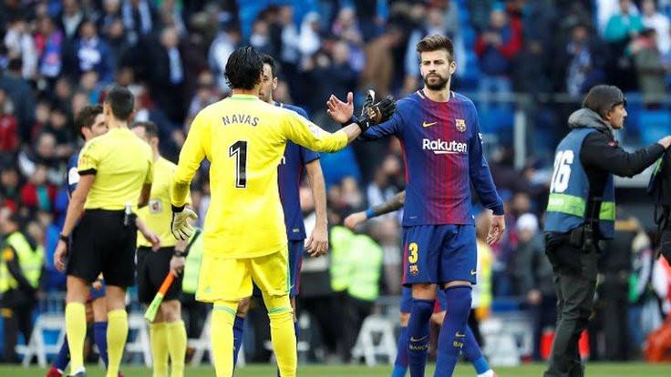 Barcelona, Real Madrid'e 3 gol attı