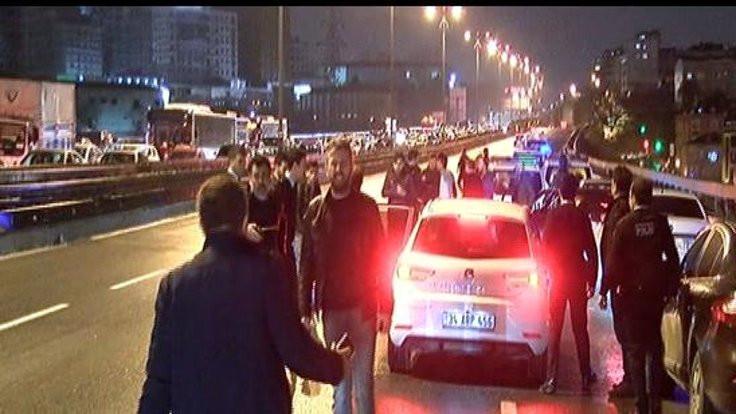 Polis memuru bıçakla yaralandı