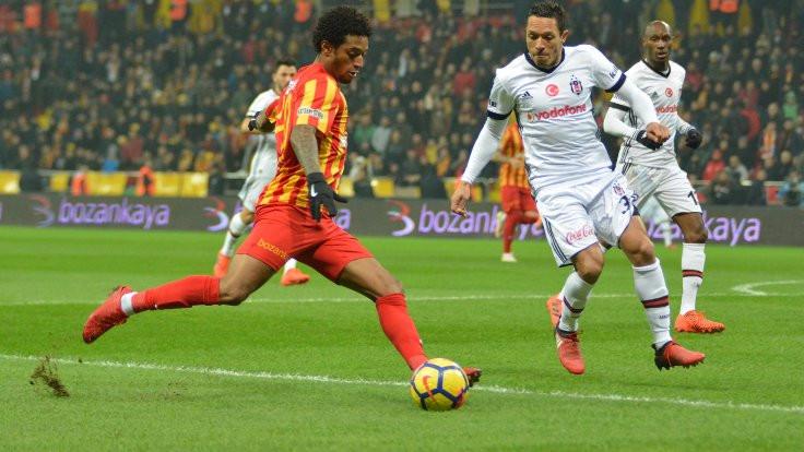 Beşiktaş ve Kayserispor puanları paylaştı