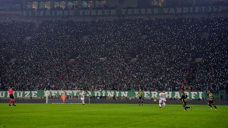 Bursaspor seyirci rekoru kırdı