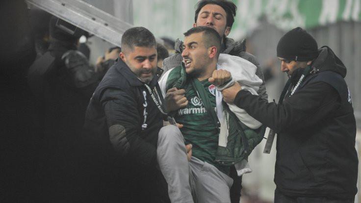 Bursaspor taraftarına gözaltı