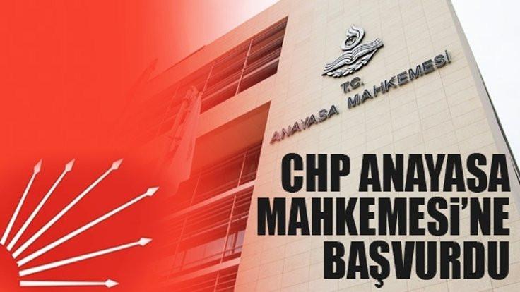 Anayasa Mahkemesi'nden CHP için suç duyurusu