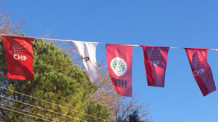 CHP'den 'HDP flaması' tepkisi: Komplo