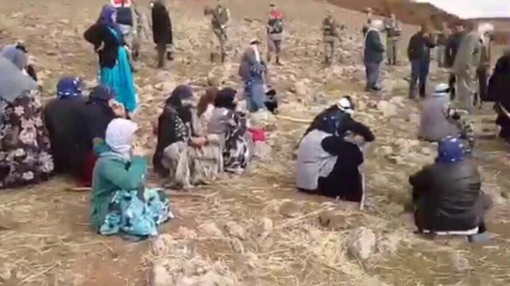 Kum ocağı tepkisi: Mezarlarımızı bulamıyoruz