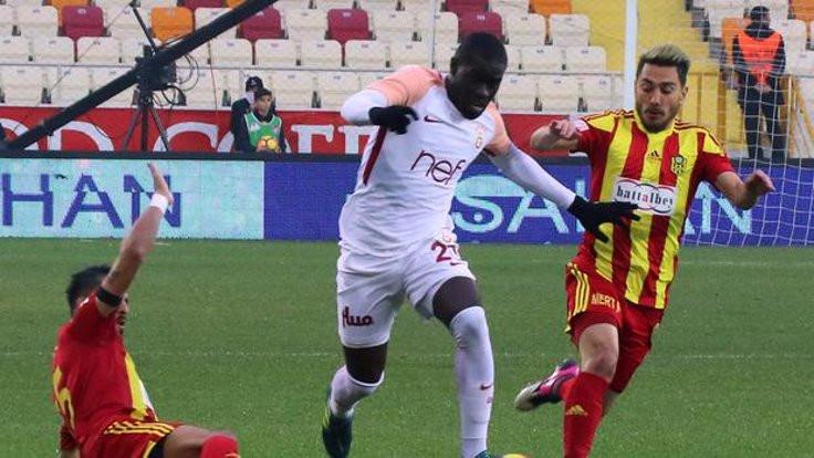 Galatasaray, Malatya'da liderliği kaptırdı