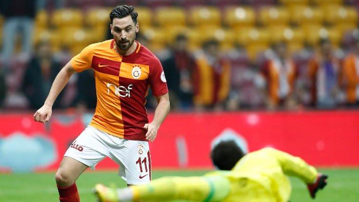 Galatasaray'ın 350'in golü Sinan Gümüş'ten