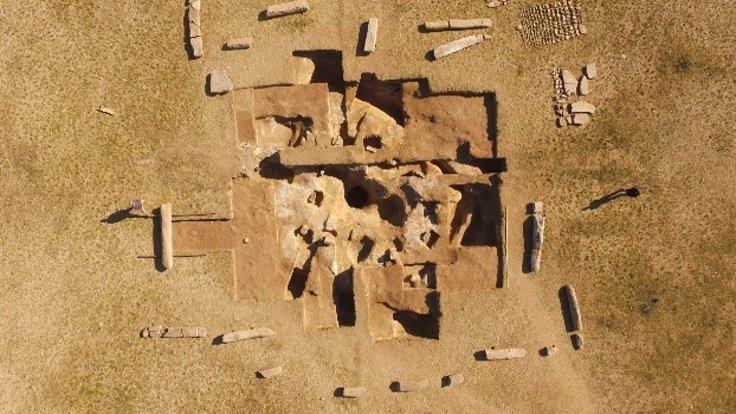 Moğolistan'da Göktürkler'e ait anıt bulundı