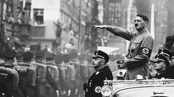 Geriye kalan Führer'in yankılanan sesi