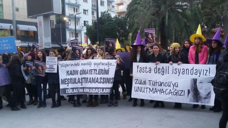 'Zülal'in sesi, ebediyen susturulan kadınlarımızın sesi olacak'