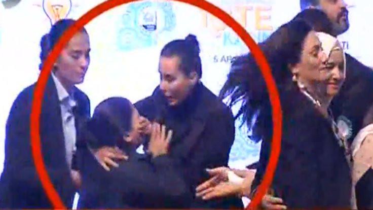 Kadın Konferansı'nda kadına sert müdahale