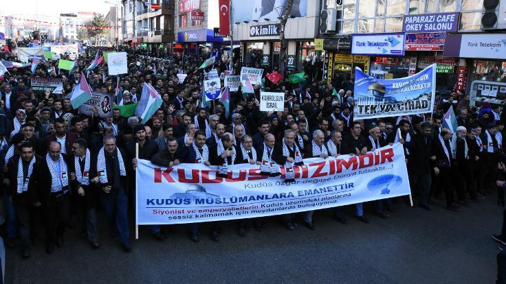 Kudüs protestoları devam ediyor