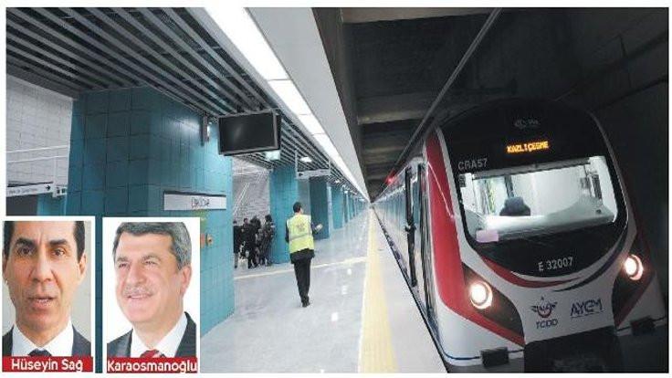 Marmaray'da güvenlik tartışması: Çat kapı makinist kabinine girdi