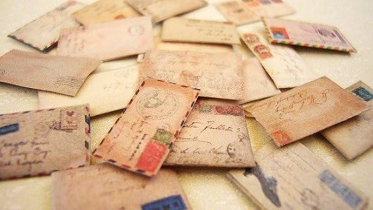 Bir kart aldım, size mektup yazdım