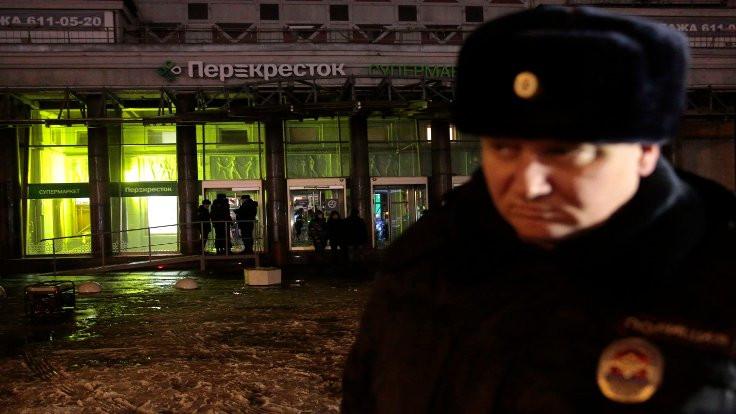 'St. Petersburg patlaması terördü'