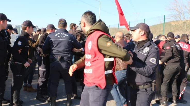 Metal işçileri Ankara'ya yürümekte kararlı