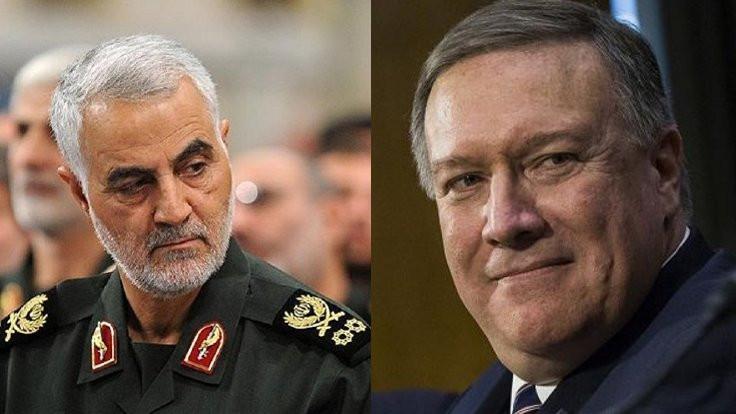 CIA Başkanı'ndan Kasım Süleymani'ye mektup