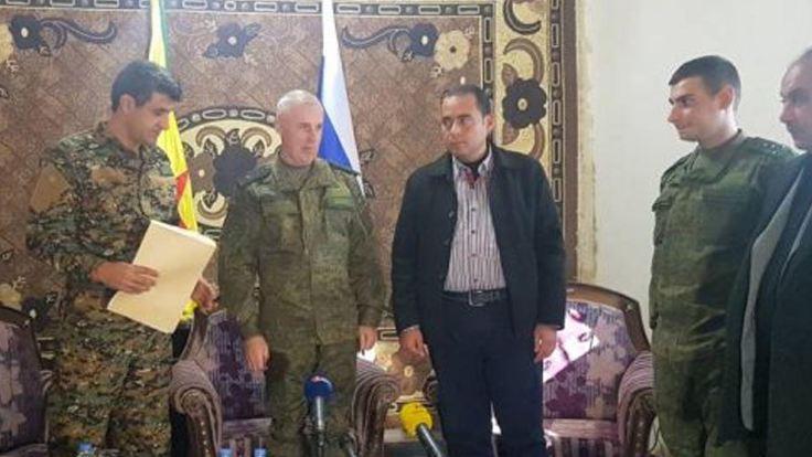 YPG ve Rus generalden ortak açıklama