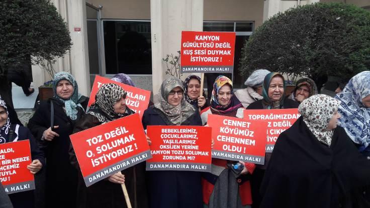 Danamandıra köylüleri: Taş ocağı kaderimiz değil