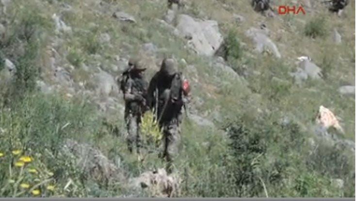 Çukurca'da füzeli saldırı