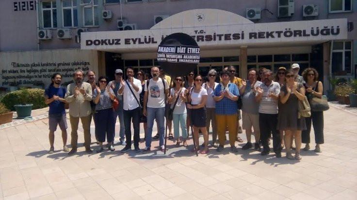 Barış akademisyenlerine 'karşı bildiri'ci komisyon