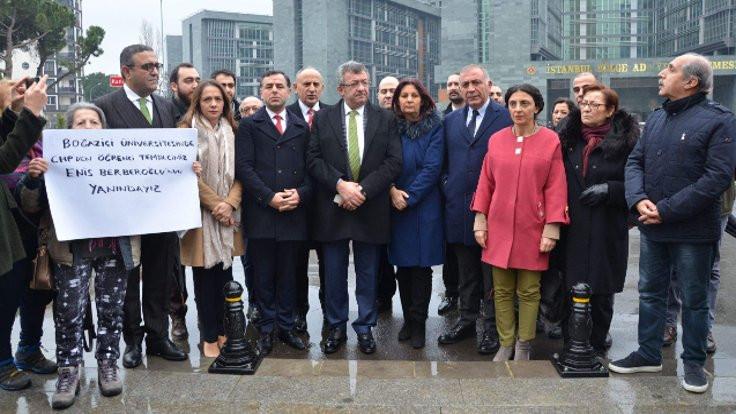 Berberoğlu için 'tutukluluğa devam' kararı