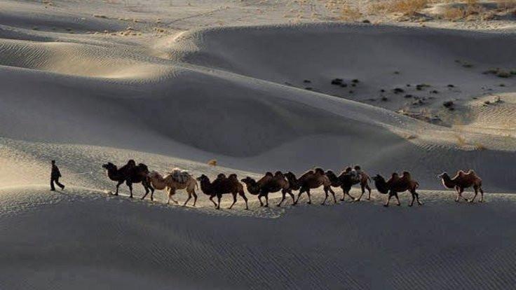 Çölde 1700 yıllık Çin mucizesi!
