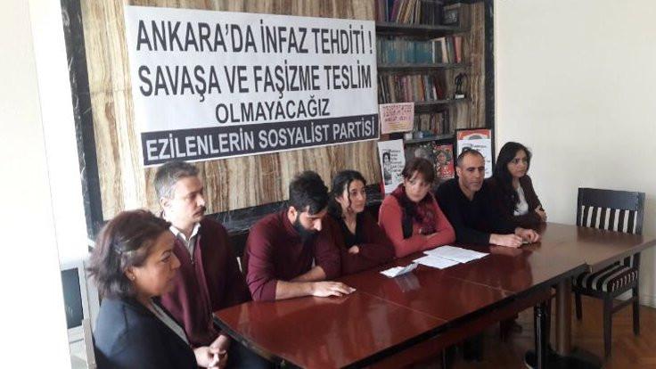 Ankara'da 'infaz' tehdidi iddiası