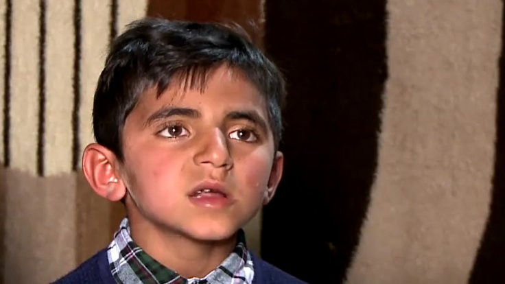 IŞİD'in kaçırdığı çocuk dilini unuttu