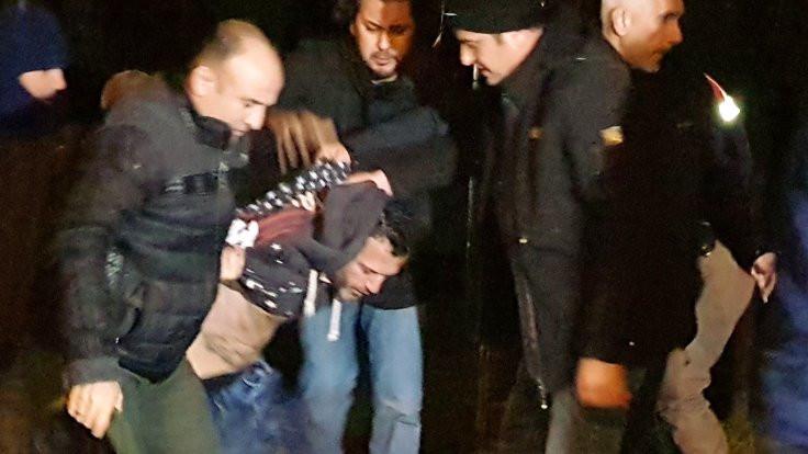 Cezaevi aracından firar eden zanlı yakalandı