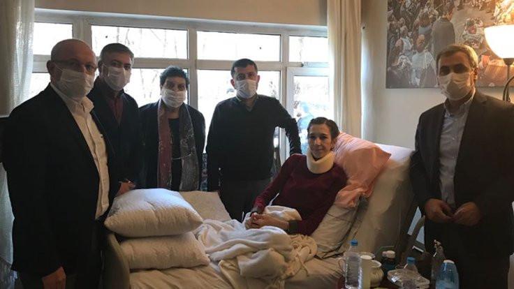 CHP'den Özakça ve Gülmen'e ziyaret