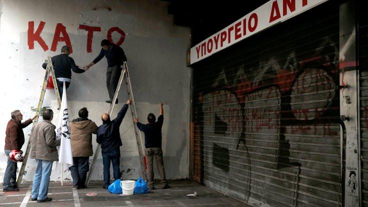 Yunanistan'da 24 saatlik grev ilanı