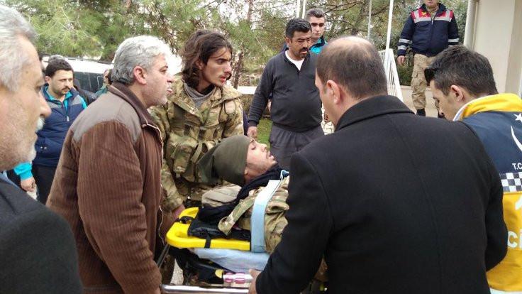 Hatay'daki ÖSO çadırlarına roket atıldı
