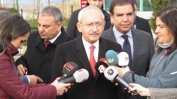 Kılıçdaroğlu, Berberoğlu'yla görüştü
