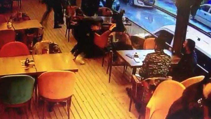 Konya'da kafeye silahlı baskın
