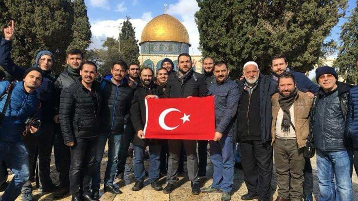 Kudüs'te, 6 Türk gözaltına alındı