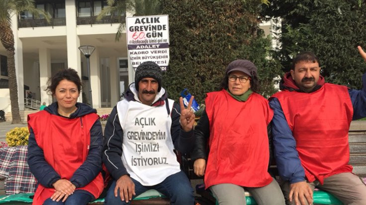 İzmir Belediyesi'ndeki işinden atılan Mahir Kılıç: Çöpçülüğe dönene kadar açlık grevindeyim