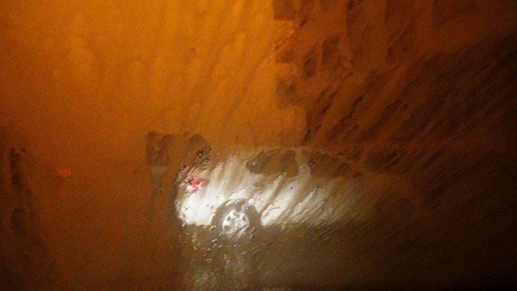 Mardin toz bulutu nedeniyle gece gibi