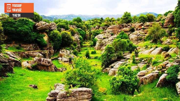 Roma yoluna taş ocağı ısrarı