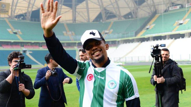Samuel Eto'o, Atiker Konyaspor'a imza attı