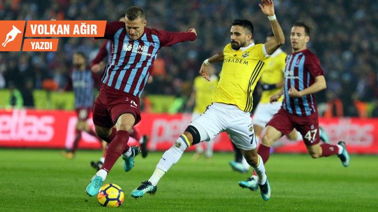 Duvar yazarı Volkan Ağır, Trabzonspor-Fenerbahçe maçını değerlendirdi: 2 gitti, 3 kaldı