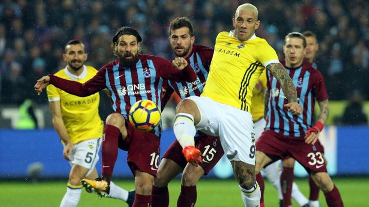 Trabzonspor: 1 - Fenerbahçe: 1