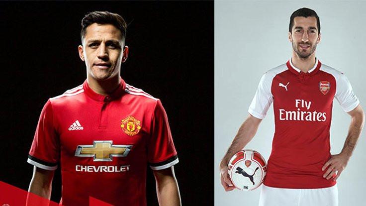 Arsenal ve Manchester United arasında büyük takas
